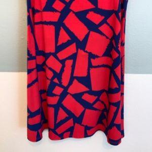 Lularoe Azure A line mid length skirt